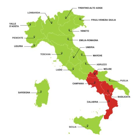 Regioni, distretti e località più ricercati online dai ciclisti