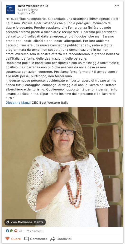 Post Best Western Italia