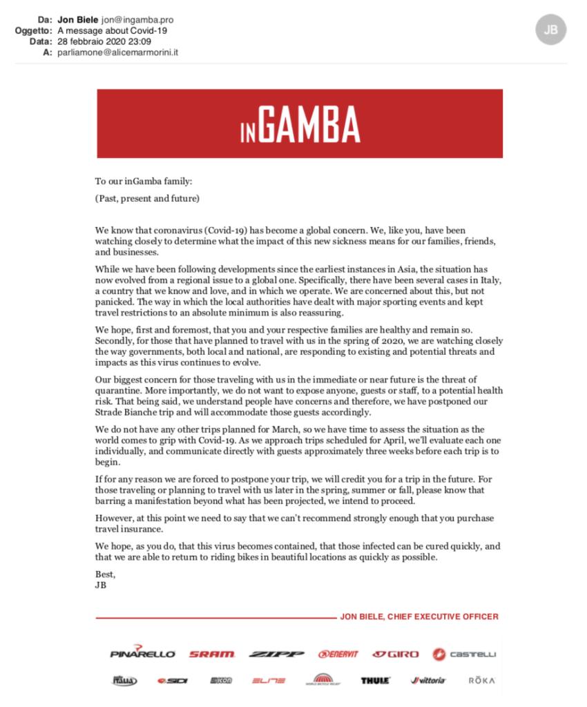 Email InGamba