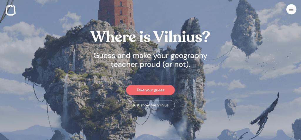 """Legge della sincerità """"Go Vilnius"""""""